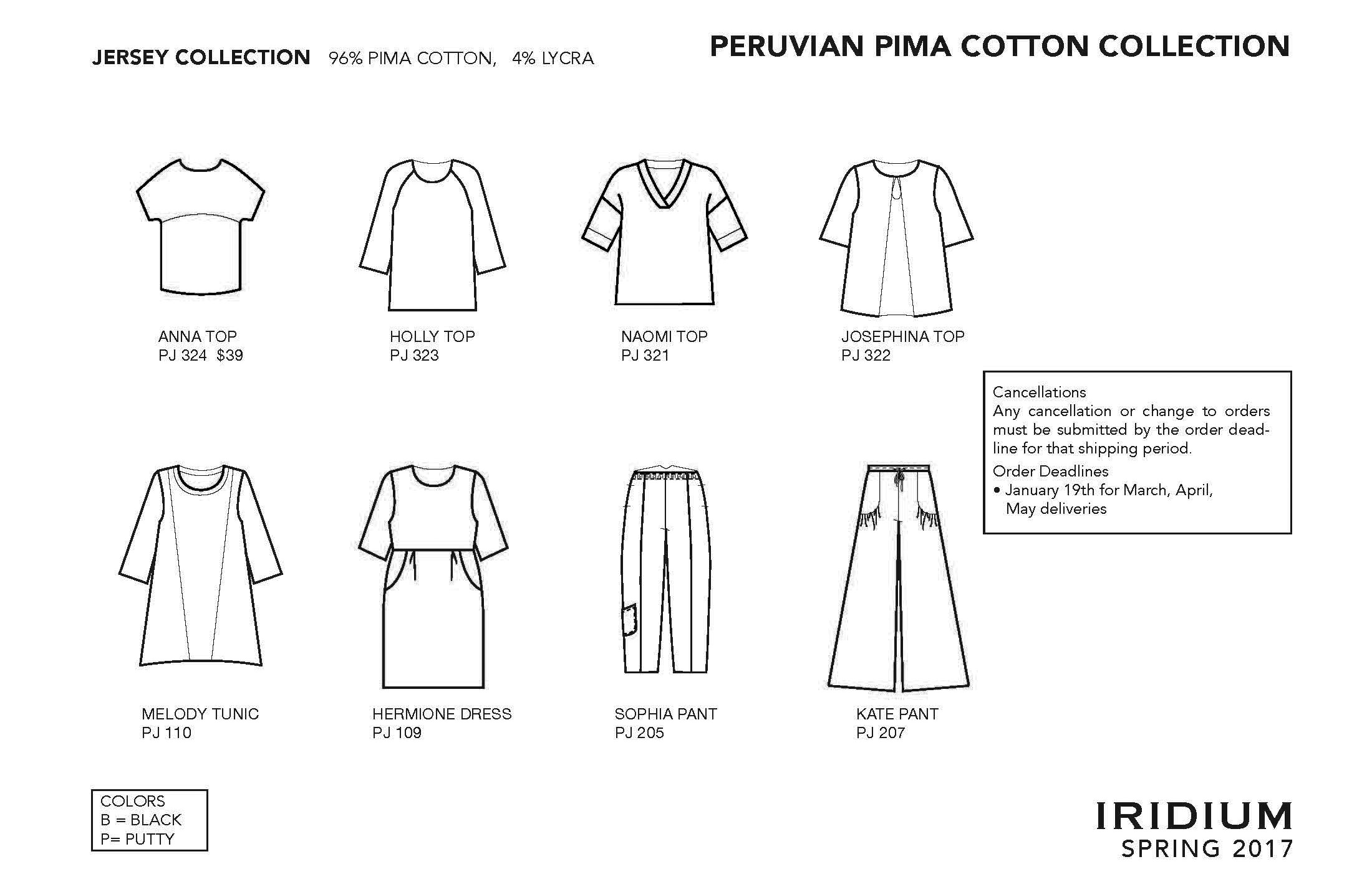 collection line sheets cotton clothing for a casual lifestyle